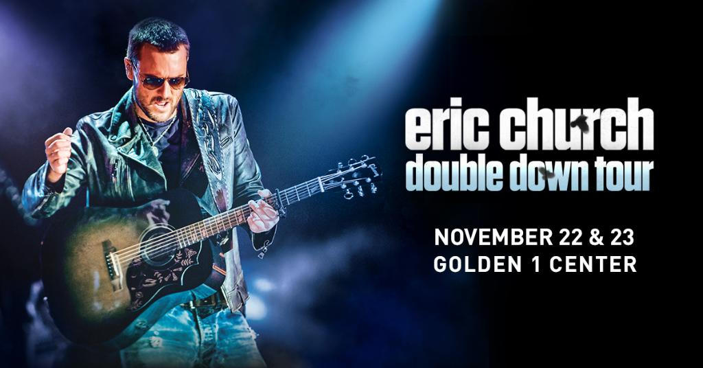 Make it a record year 🙌 Tickets to @ericchurch's TWO nights at Golden 1 Center are on sale NOW!  🎟 http://spr.ly/6016EZ3um