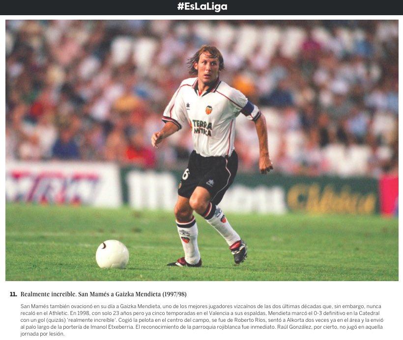 ⚽️🙌🏻😉 Quitarse el sombrero ante el rival. Cuando el fútbol y la caballerosidad se dan la mano | Es @LaLiga en @el_pais  https://elpais.com/elpais/2019/03/21/album/1553167881_075002.html#foto_gal_11…