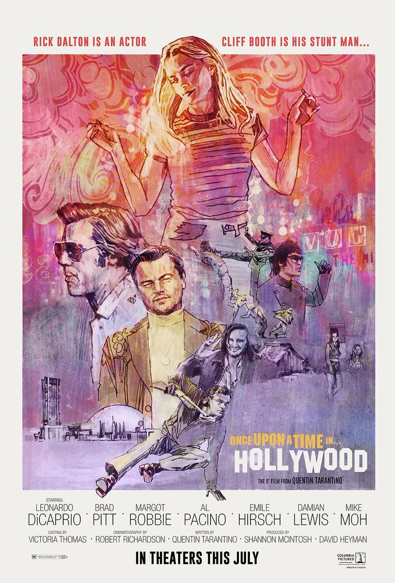 cc715350 Once Upon a Time in Hollywood Gets a Better Poster | Collider | Collider