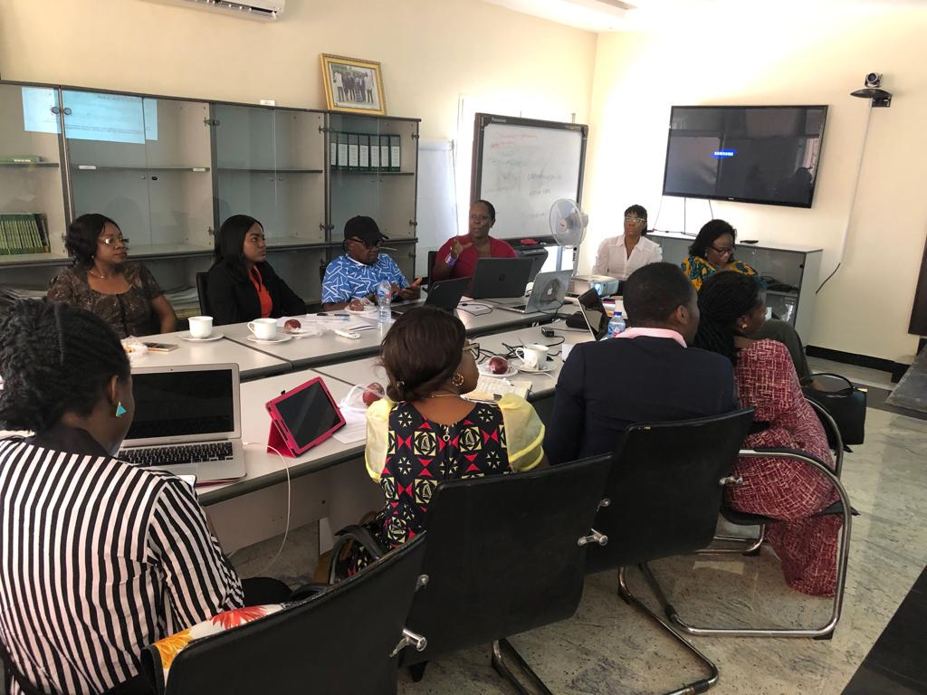 Today, @NRGInstitute Nigeria, hosted a roundtable discussion on Mainstreaming Gender into Extractive Sector Commitments and the OGP Process  #OGPWeekNG19  #Inclusiveness #BalanceForBetter