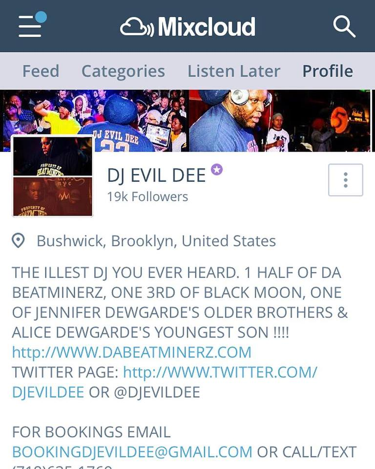 MAKE SURE YOU ARE FOLLOWING ME ON MY @mixcloud PAGE 4 THOSE DJ EVIL DEE MIXES ! . http://www.mixcloud.com/djevildee  . UNDERSTAND THE FLAVOR ! . #djevildee #blackmoon #dabeatminerz #beatminerzradio #radio #streaming #dj #hiphop #rnb #funk #soul #pop #rock #housemusic #disco #music #free