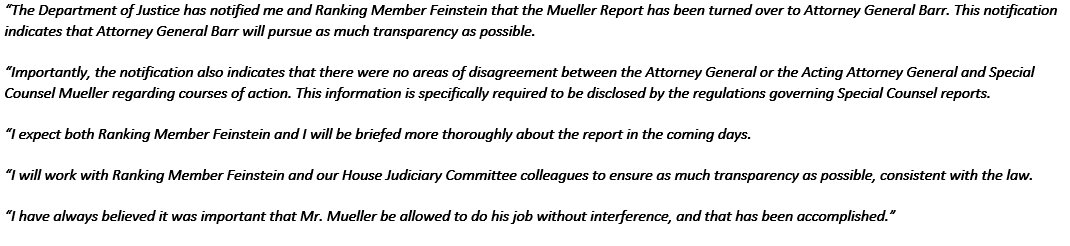 Mueller report release: Special Counsel investigation report sent to William Barr, concluding FBI investigation into Russia interference in Trump Campaign and 2016 election - live updates - CBS News