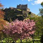 Image for the Tweet beginning: Edinburgh's world-class parks and gardens