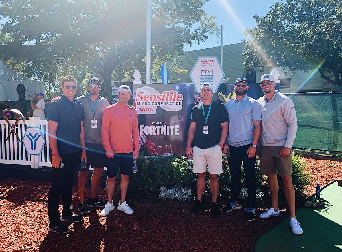 12a44d0bad706 ... of the  Phillies for stopping by our  SensibleMicro Zone featuring  Fortnite. Hope you boys had a blast and we appreciate you coming out!pic. twitter.com  ...