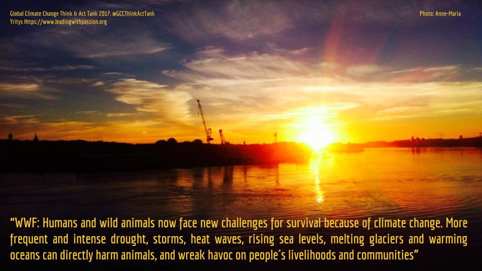 Why are humans and wild animals facing completely new threats due to climate change? http://bit.ly/GCC999Climate #climatechange #climateaction