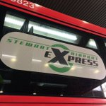 Image for the Tweet beginning: Using the #StewartAirportExpress to access