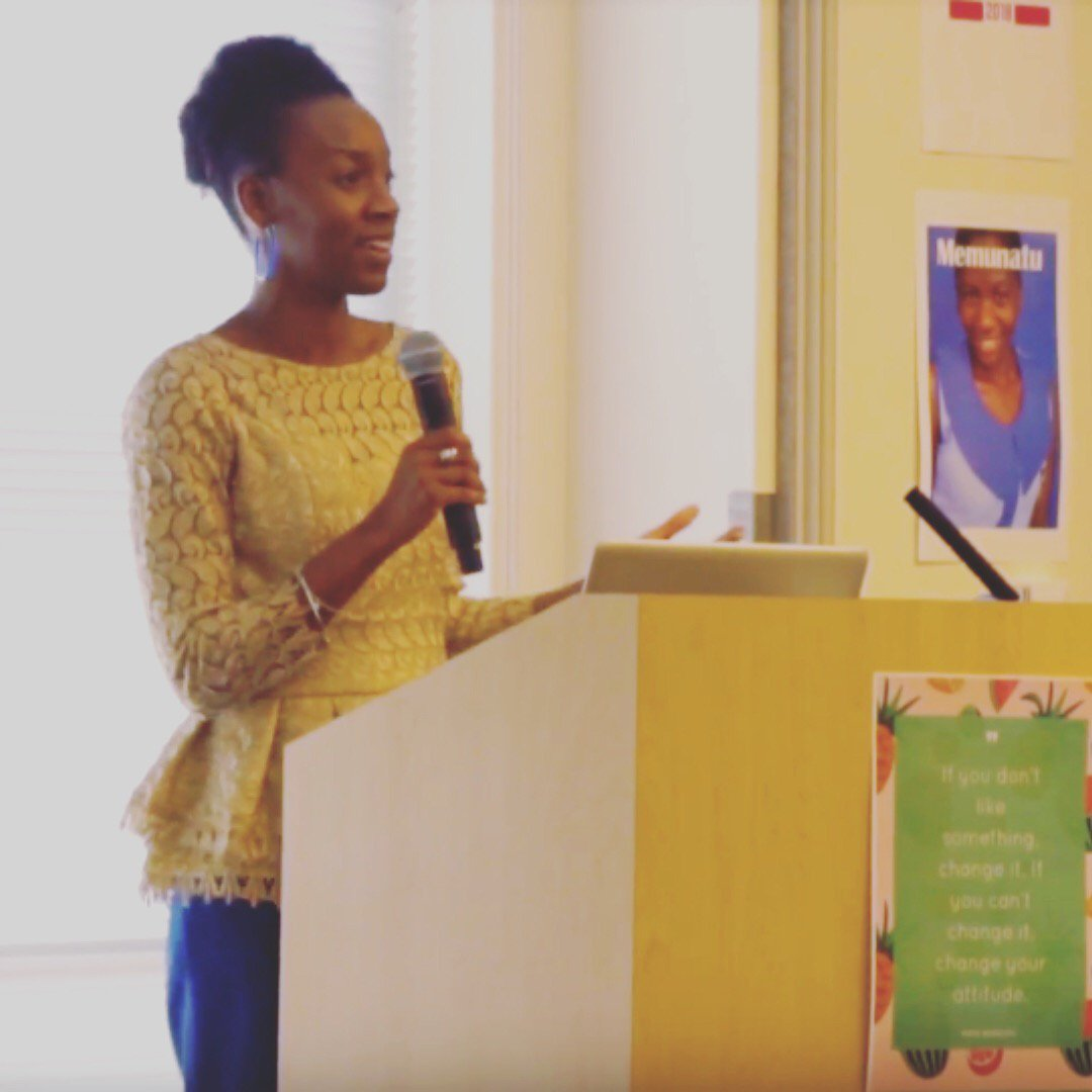For Women's History Month, we are sharing a flashback of Chidi Bylden-Rowe's Power Talk during our International Day of the Girl event at Amazon. Read the article and see the video! https://memunatumagazine.com/subscribe #advice #dayofthegirl #womenshistorymonth #Africa #empowerment