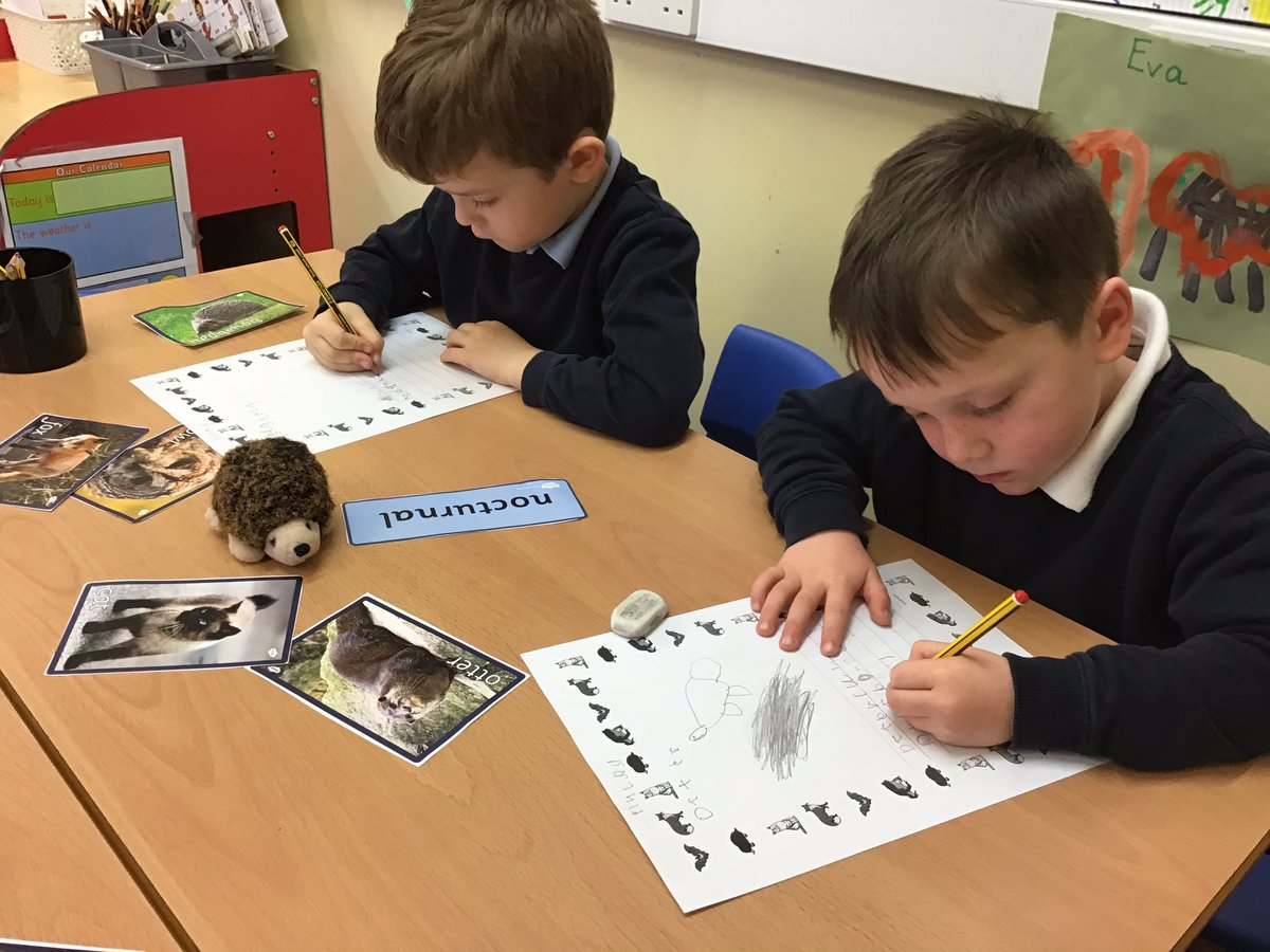 This week in class 1 @ColebyCofE we have been focusing on Nocturnal animals. We finished our week by making our own fact books. Lots of super writing from both the year 1 and reception children. #writing #welovewriting #nonfiction
