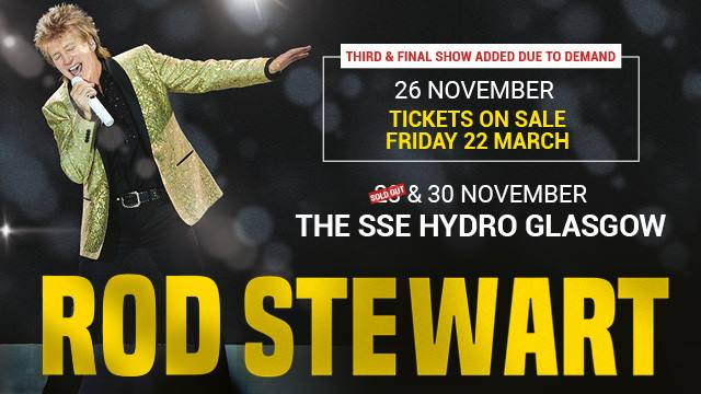 Sir Rod Stewart's photo on ON SALE NOW