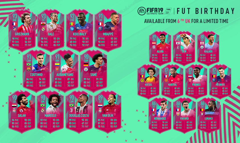 Image result for fut birthday fifa