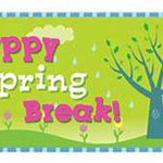 Image for the Tweet beginning: Enjoy Spring Break! Be safe