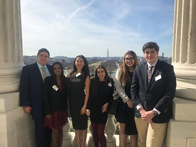 Seven members of the #SyracuseU Student Association recently took at trip to Capitol Hill in Washington, D.C and made their voices heard on a wide range of issues: http://ow.ly/mMKs30o9pSZ