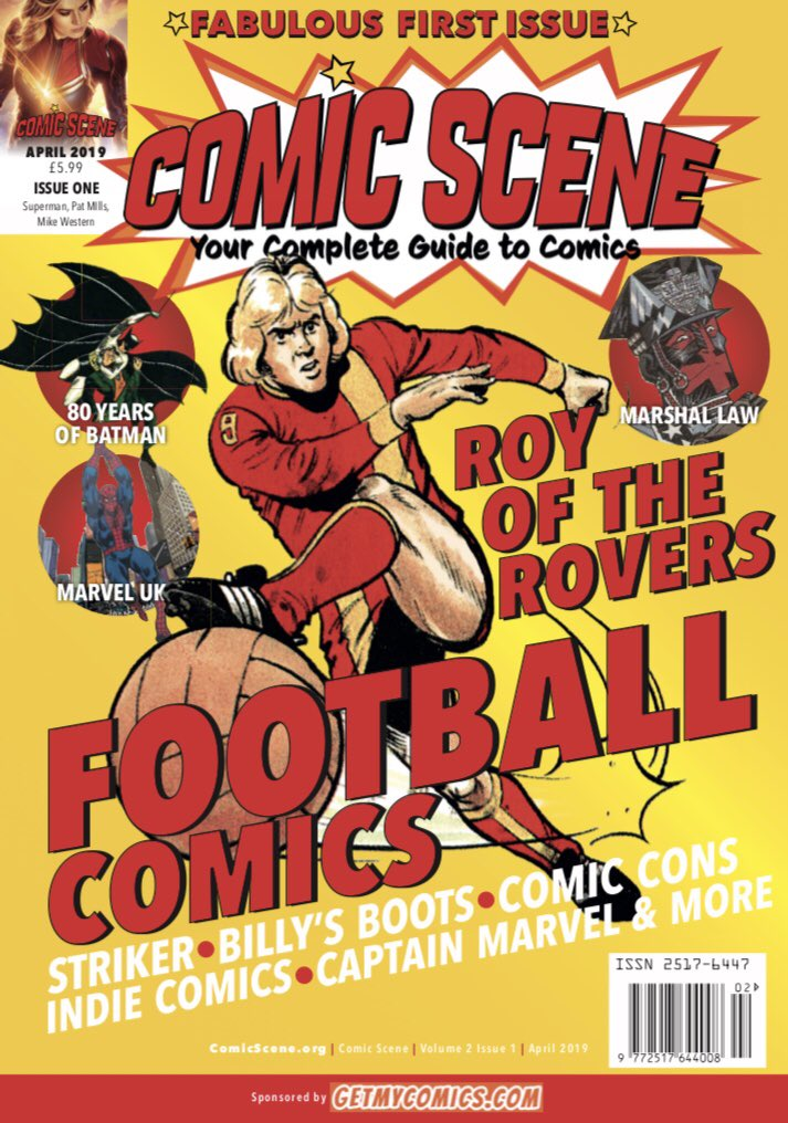 ComicScene Issue 7 on sale now on Twitter:
