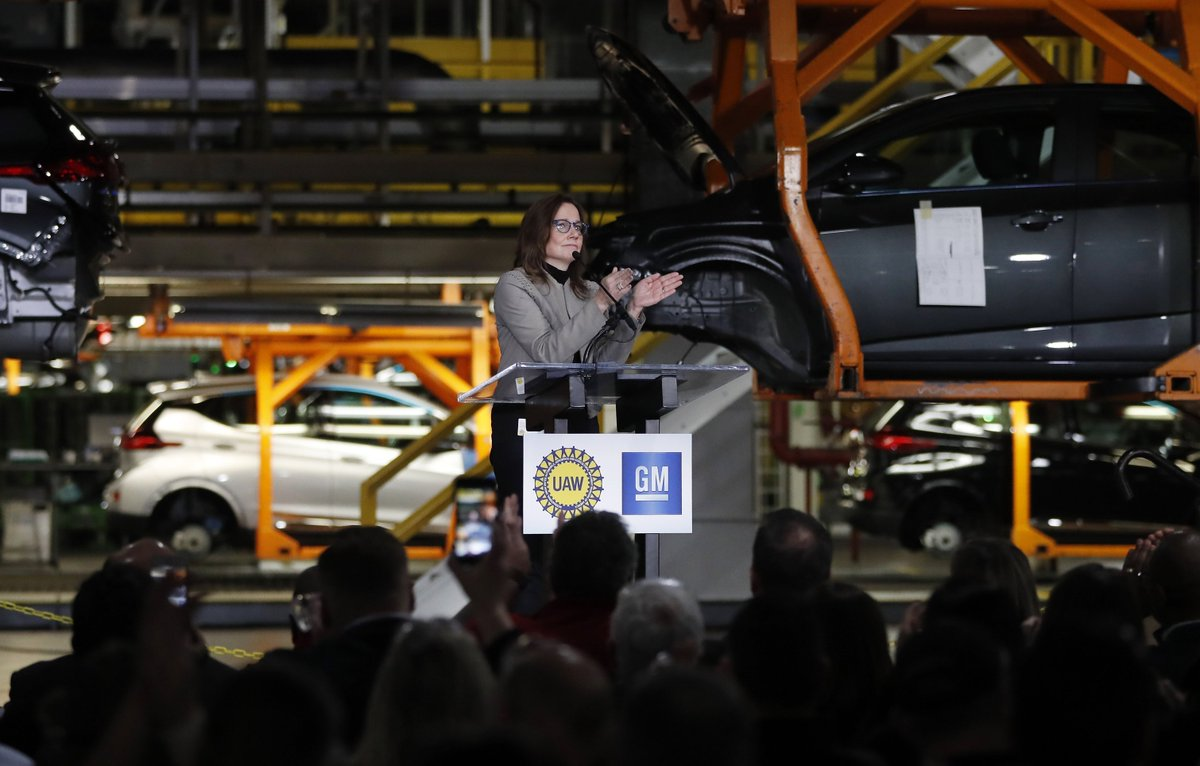 An Ohio Plant Closure Gm Is Announcing Plans To Add 400 Jobs And Build A New Electric Vehicle At Factory North Of Detroit Http Ow Ly Du5d30o9ewp