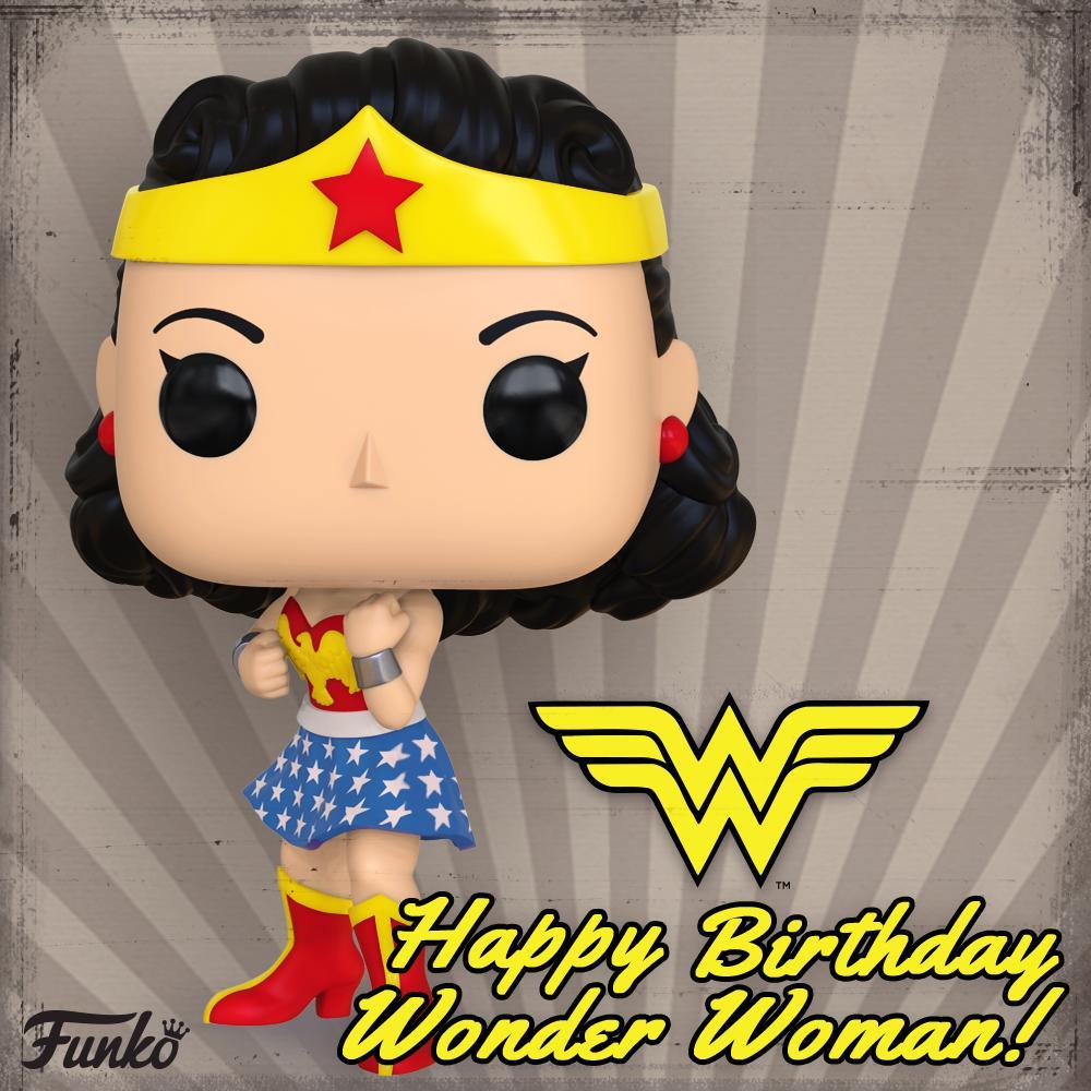 Funko On Twitter Happy Birthday Wonder Woman Wonderwoman Happybirthdaywonderwoman