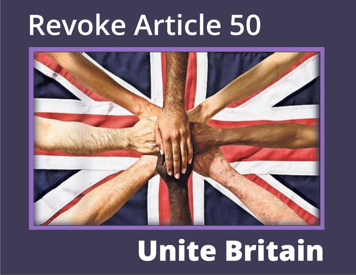 Let's #RevokeArticle50 and get back to things that matter