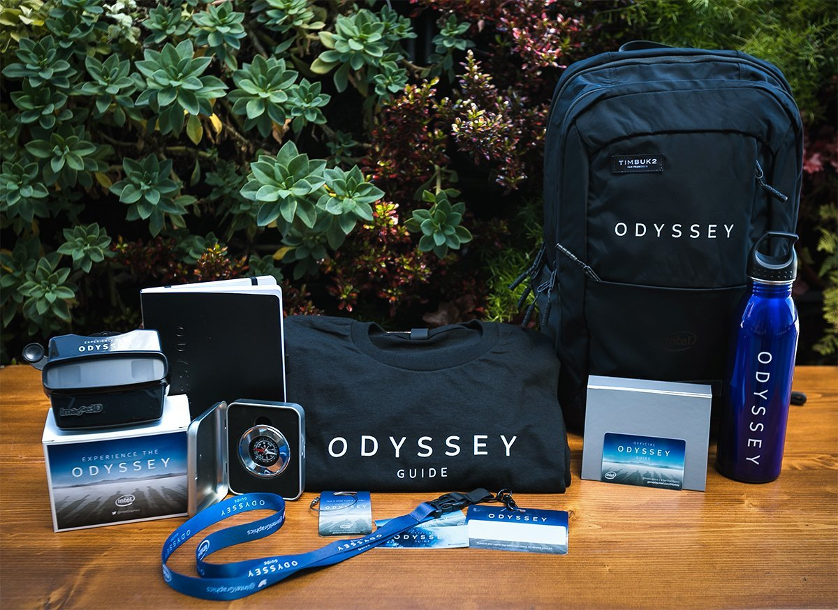 OH SNAP! It's your last chance to win a new gaming PC and exclusive #JoinTheOdyssey swag! Have a peek at the prize kit and RT this post to get entered. No Purch. Nec. Ends 3/22/19. #Sweepstakes #ad  http:// game.info.intel.com/gdc19  &nbsp;  <br>http://pic.twitter.com/prWSo0vQQO