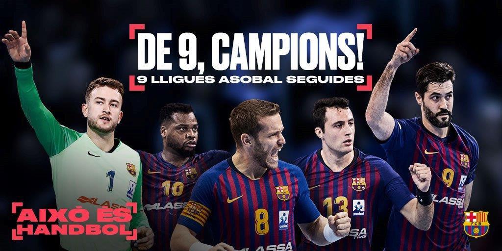 🏆 CAMPIONS DE LLIGA!! La 9a consecutiva!! 👏🏼  🏆 ¡CAMPEONES DE LIGA! ¡¡La 9ª consecutiva!! 💪🏼  🔵🔴 FORÇA BARÇA!! 🔵🔴