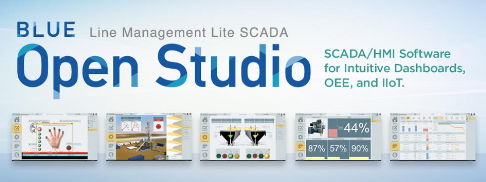 BLUE Open Studio Version 8.1 SP2 has been released! Download a trial today and see how powerful this SCADA software can be! #software #hmiscada #blueopenstudio #linemanagement  https:// lnkd.in/dmCVmm6  &nbsp;  <br>http://pic.twitter.com/QJXnc0RB4S