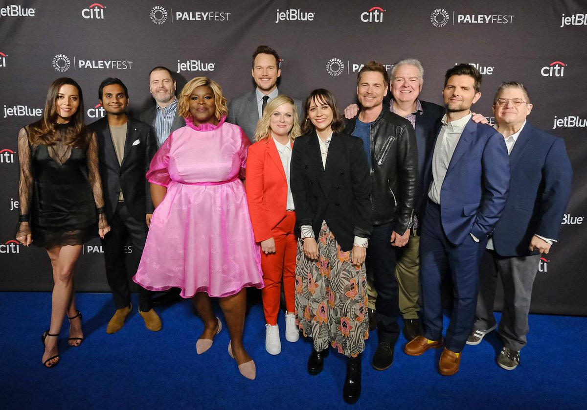 Et Canada On Twitter The Cast Of Parksandrecreation Reunited To Host A Panel During Paleyfest2019 Plus More Former Cast Members Getting Back Together Https T Co 5hwfyn8lzd Https T Co 0gofwvykk2