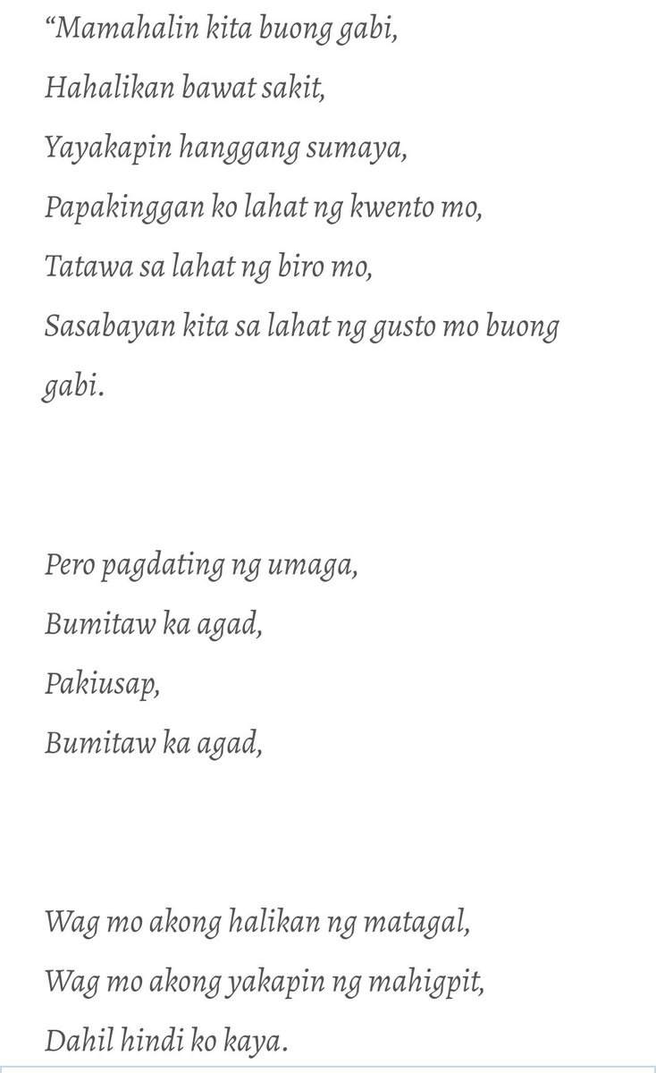 tagalogpoetry hashtag on Twitter