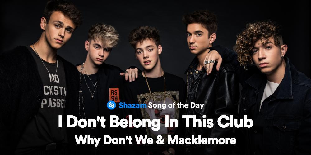 Why Don't We  @ Shazam