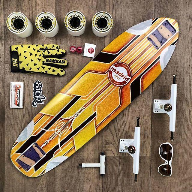 Getto ready for the new season! #downhillskateboarding . . . #longboarding #longboard #madridskateboards #maxdubler #calibertrucks #venomwheels #springsession #yellow https://ift.tt/2UXCftypic.twitter.com/V3NYnbNGog