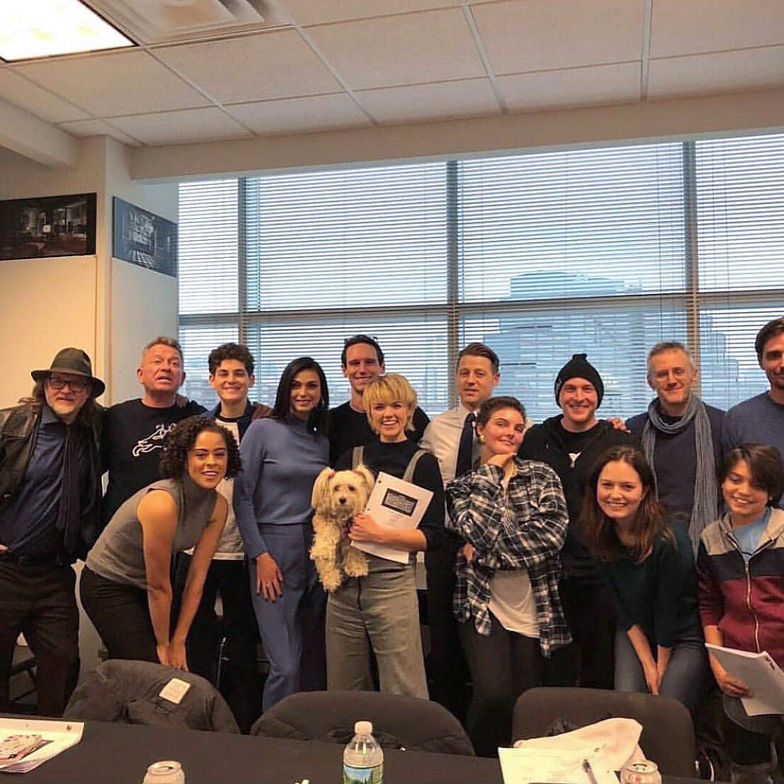 Our family. #fbf to the last #Gotham read thru. For real this time. @Gotham<br>http://pic.twitter.com/T4wQEnLq4e