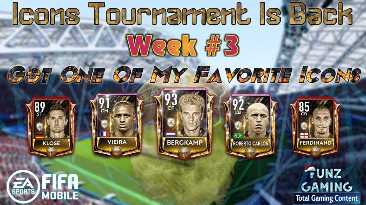 FIFA MOBILE 19 | Icons Tournament Is Back | Week #3 | Got