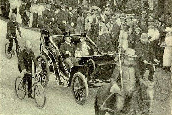 Happy Presidents Day! Fun Fact: The first POTUS to ride in an automobile was #25, William McKinley. #presidentsdayweekend #presidentsday