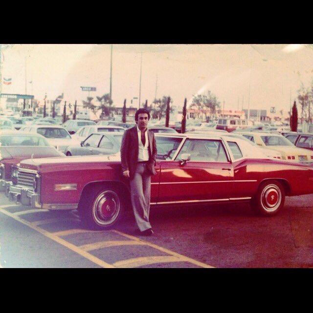 """... Some day, these will be the good old days..."" #thegoodolddays #macklemorefeatkesha #song #yakovjackiehefetz #jackhefetz #goodvibes #weekend #lasvegas #love #cars #70s #cadillac #eldorado #red #oldfashion #me #justme #luxuryvehicle https://t.co/95rZIYYEmE"
