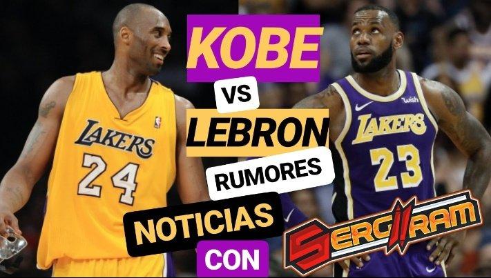 NUEVO VÍDEO | Kobe Bryant zanja el debate con LeBron y Jordan por el GOAT | Noticias y mucho #NBA   Con un invitado especial ⬇️  @Sergiiram que se une a @Bang4Three y @PichuRuas   📺 https://youtu.be/5ox9UgV6XNE
