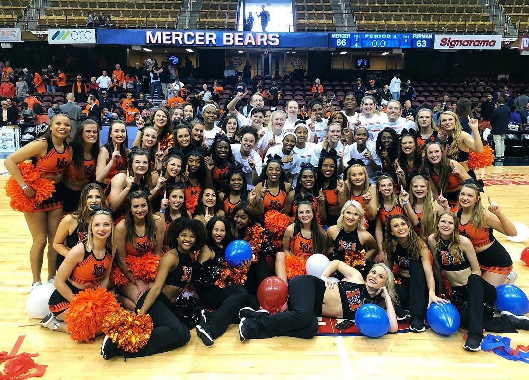 We always love cheering on @MercerWBB @EPEDtogether. You played your hearts out and nearly created some chaos! We will always have your backs! #beardown <br>http://pic.twitter.com/LoGl801nY9