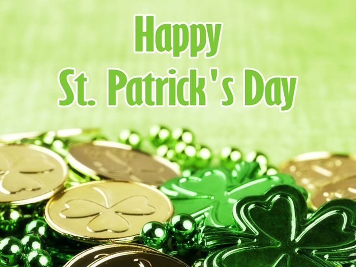 May your #StPatricksDay wishes fill your life like a pot o' gold. #celebrate https://ift.tt/2xjf3yJ