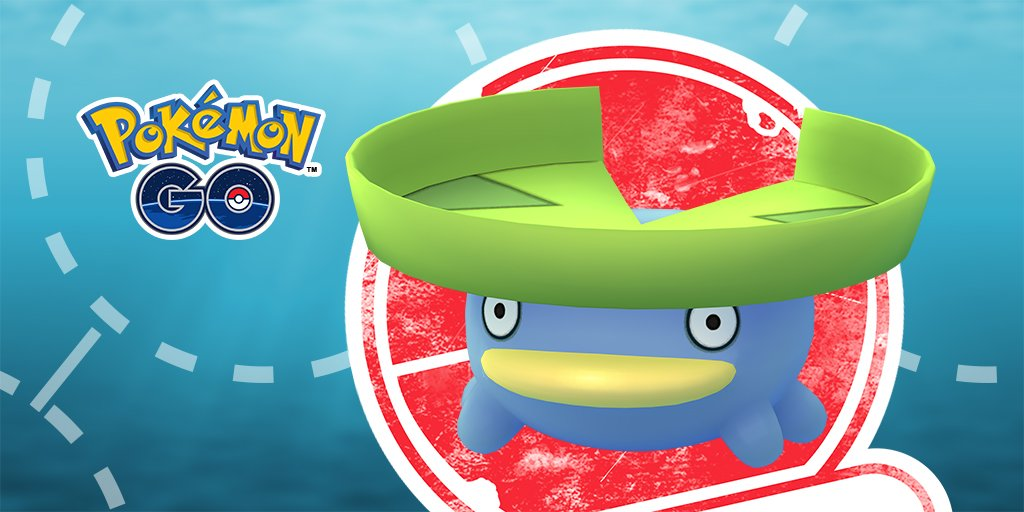 Limited Research alert    March 30  11:00 a.m. to 8 p.m. in your local time zone  Can you weather this weather-based Limited Research event featuring Lotad? Only one way to find out:  http:// bit.ly/2FoiCo3  &nbsp;    #PokemonGO <br>http://pic.twitter.com/6xKY76MCDP