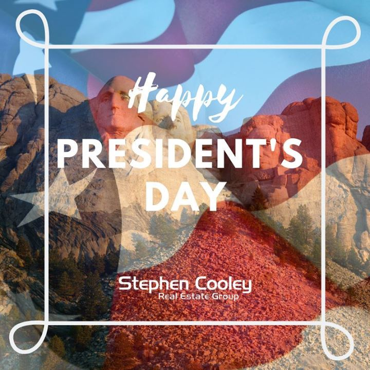 Don't forget most schools & banks are closed today! . . . #presidentsday #ncrealestate #screalestate #stephencooleyrealestategroup