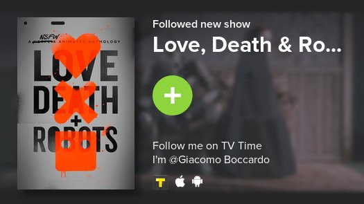 test Twitter Media - I just added Love, Death & Ro... to my library! #tvtime https://t.co/9qj4jgTEu1 https://t.co/ckMWjKfiOl