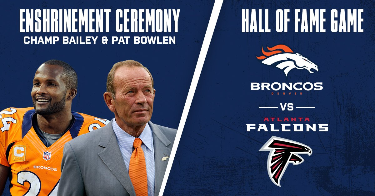 Join us in Canton for #PFHOF19!   Enshrinement Ceremony and Hall of Fame Game Tickets are now available!   &gt;&gt;  https:// goo.gl/goN5sn  &nbsp;  <br>http://pic.twitter.com/f9tLRnfqEE