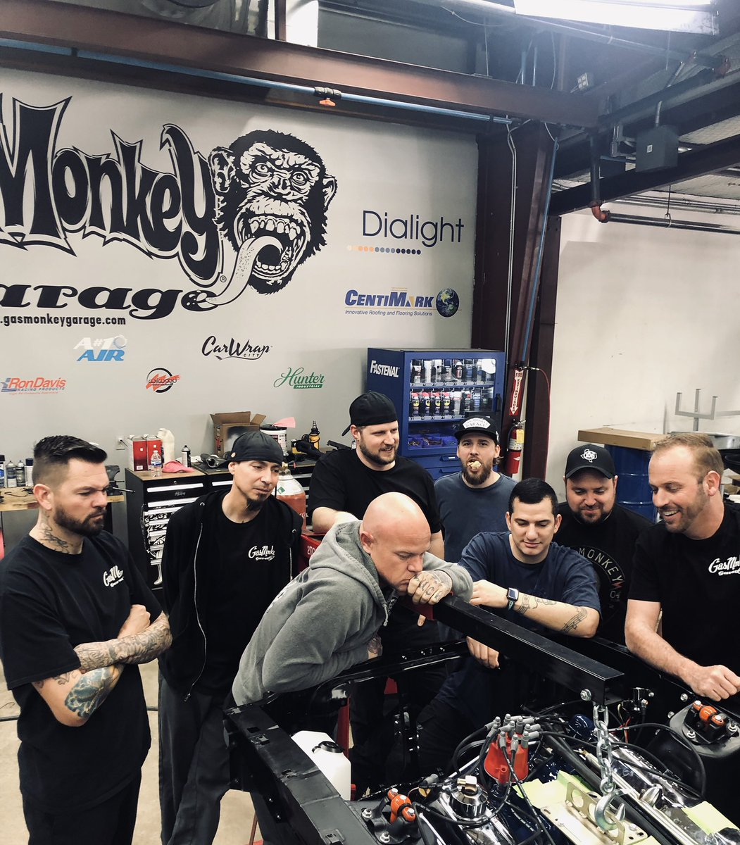Gas Monkey Garage On Twitter Engine Is Officially In On Our Build