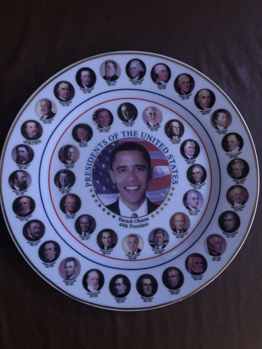 @BarackObama What is wrong with my plate?...NOTHING!.....Yet. #PresidentsDay #president #POTUS44 #POTUS