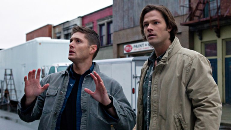 It's the end of an era: @jarpad, @JensenAckles and @mishacollins announce the end of #Supernatural http://thr.cm/egNDLk