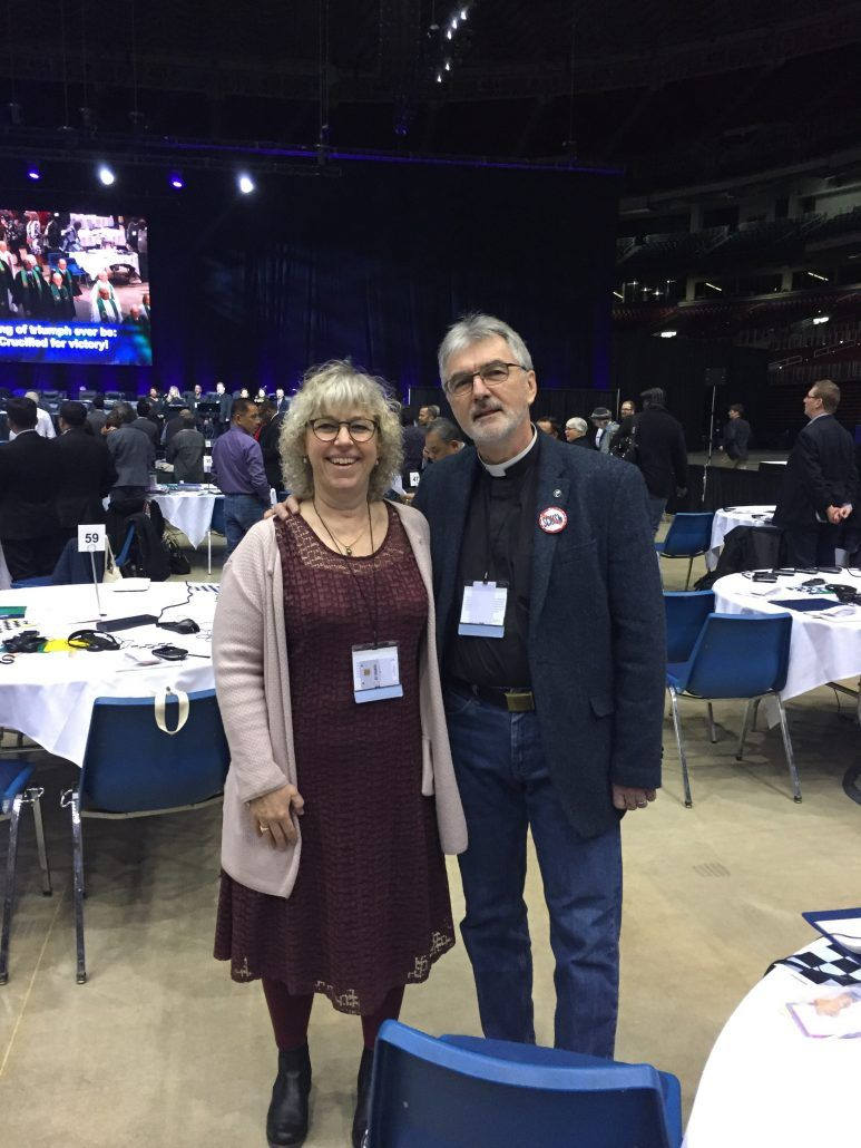 Delegates to the United Methodist Church of Denmark officially disavow the Traditionalist Plan and the harm it seeks to implement: https://buff.ly/2HBQ8eb  #umc #umcgc #gc2019 #foreveryoneborn