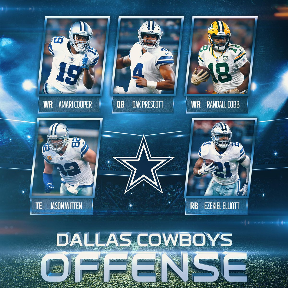 The @dallascowboys offense is full of playmakers <br>http://pic.twitter.com/pw2OHuyDk8