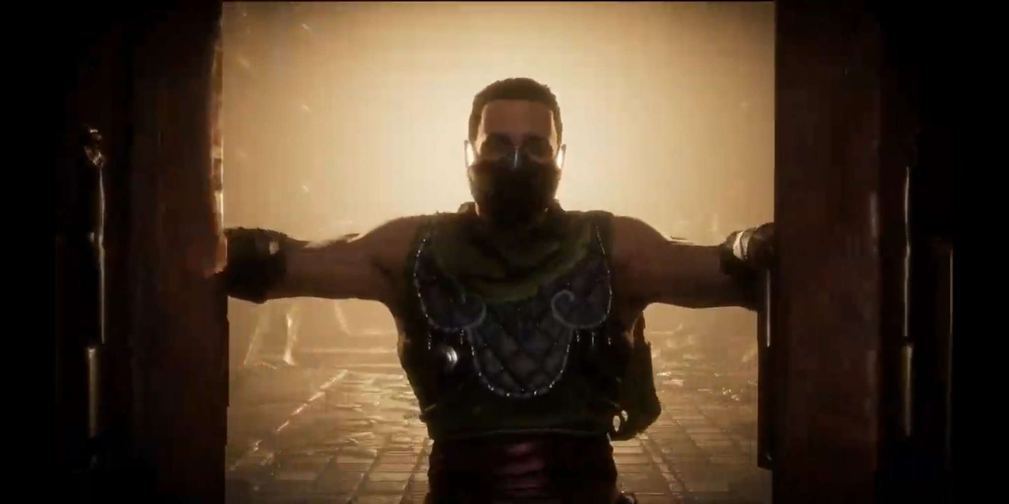 Is the new Krypt character a young Erron Black? : MortalKombat