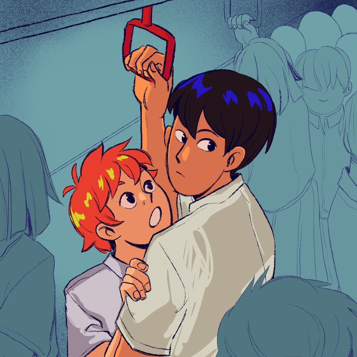 kagehina compilation,, i&#39;m seriously considering making a zine w/ kagehina drawings and comics but i&#39;ll post more abt that in the future :3c #haikyuu<br>http://pic.twitter.com/Yhvlm0tNGy