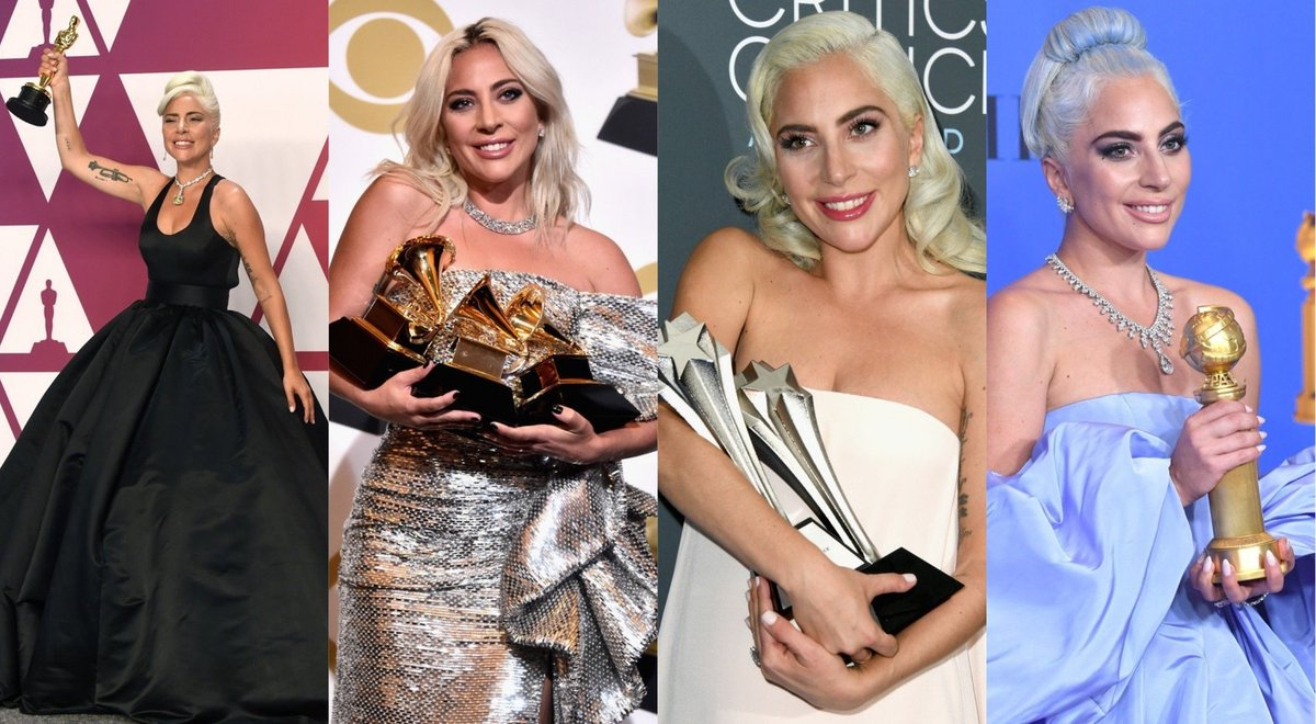 Shallow  #1 Hot 100 #1 WW iTunes Chart (x136) #1 European iTunes Chart (x148. Longest running #1) #1 US iTunes (x75) #1 25 official charts 74M US Radio Most awarded song in history (2 Grammys, Oscar, Golden Globe) +6.5M SPS WW 16 Platinum Certifications +1B Streams (YT + Spotify) <br>http://pic.twitter.com/AVj57PLf7J