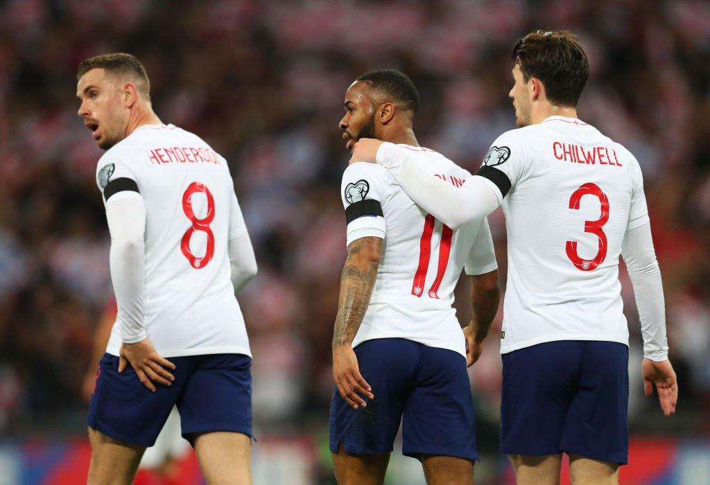 Raheem Sterling this season for club and country:  🏟️41 games ⚽️21 goals 🎯16 assists  Unreal. #ENGCZE ⚽🏴🇨🇿