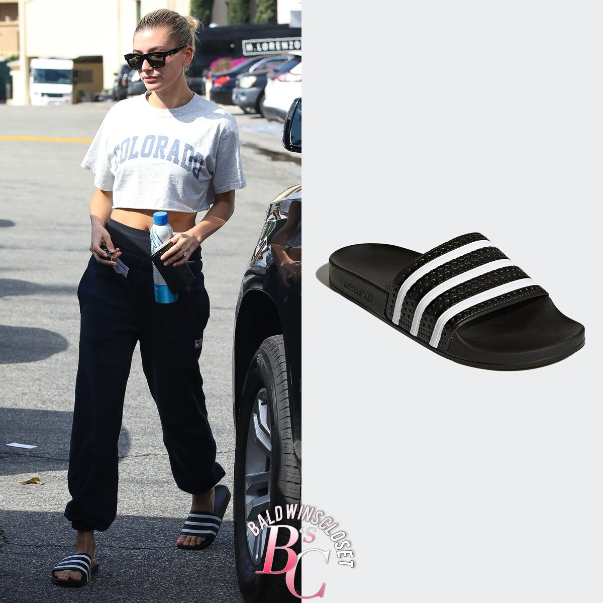 40cc6129c ... it with  Adidas Slides for  45.00 and  Celine Sunnies for  400.00.  http   baldwinscloset.com post 183635995884 march-22-2019-hailey-bieber-was-spotted  … ...