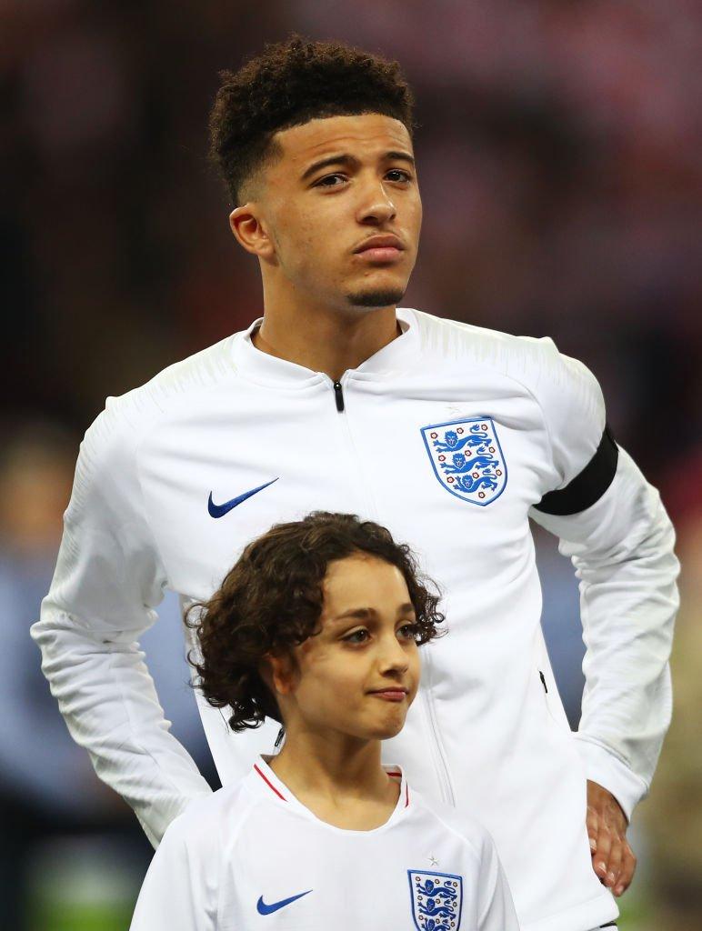 The future for England:  🏴Raheem Sterling 🏴Jadon Sancho 🏴Callum Hudson-Odoi 🏴Marcus Rashford 🏴Declan Rice 🏴Reiss Nelson 🏴Phil Foden 🏴Joe Gomez 🏴Trent Alexander-Arnold