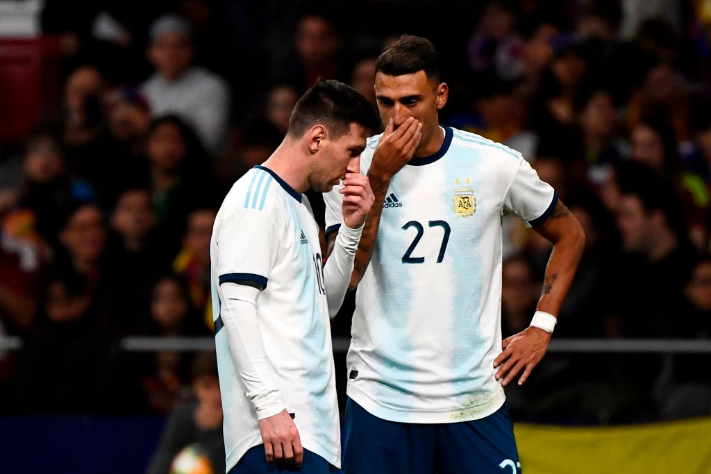 Argentina sufrió un cachetazo inesperado ante Venezuela, en la vuelta de Messi a la Seleccion (Video) D2Suc4vXQAAwq5f